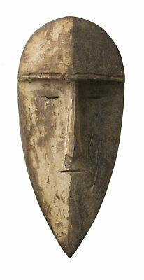 Mask Passport African Robert Aduma Gabon Wood 18cm Art First 16684