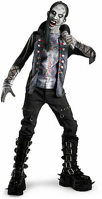 ROT N' ROCKERS SHOCK ROCK MARILYN MANSON ZOMBIE CHILD HALLOWEEN COSTUME MEDIUM - Marilyn Manson Costume Halloween