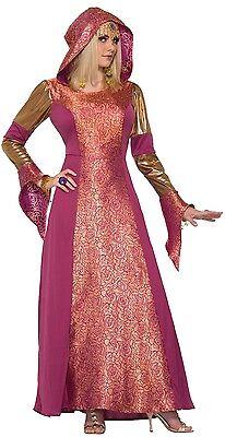 e Mittelalterlich Arabian Queen Halloween Kostüm Kleid (Arabian Kostüm)