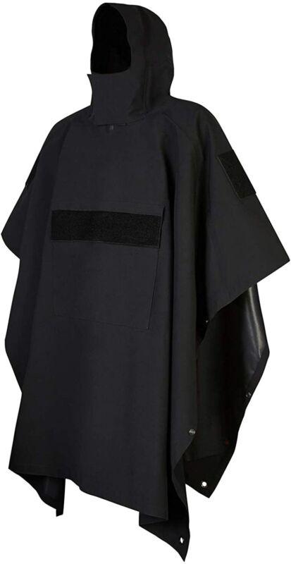 GLORYFIRE Poncho Technical Soft-Shell Poncho Tactical Ripstop Raincoat Multi-use