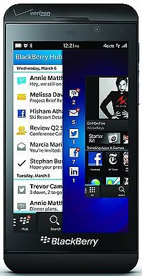 BRAND NEW BlackBerry Verizon Z10 16GB Black CDMA FACTORY UNLOCKED U.S. Cellular