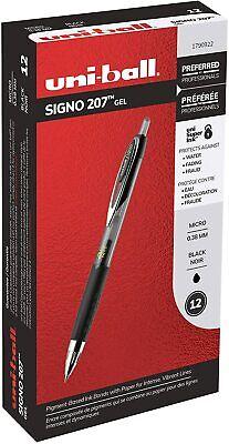 Micro Black Ink 3-Count 0.5mm Uni-Ball SIgno 307 Retractable Gel Ink Pens