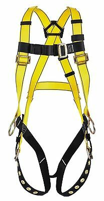 Msa Harness 10072491 Vest Style Pullover Crossover Riggers Style