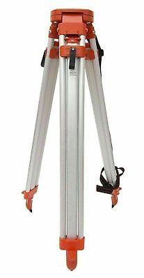 Aluminum Double Lock Heavy Section Tripod Level Surveying Tripod Stand