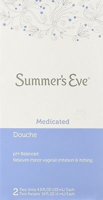 Summer's Eve Douche Medicated, 2 Units of 4.5 oz