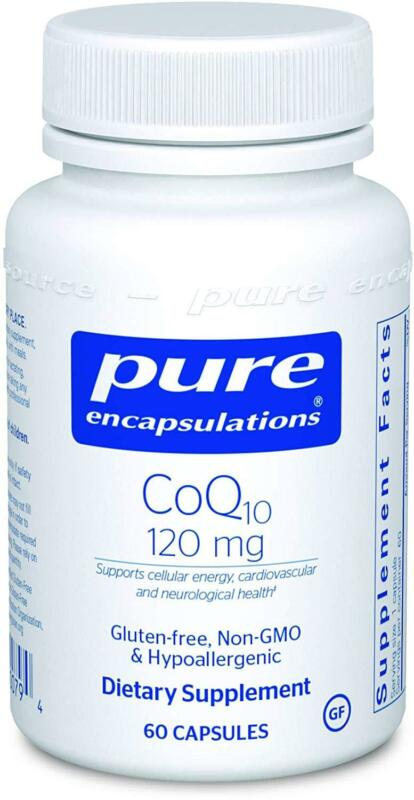 Pure Encapsulations - CoQ10 120 mg - Coenzyme Q10 Supplement