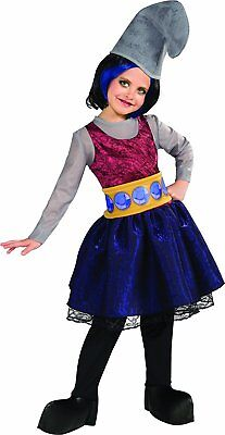 Vexy Smurfs 2 Movie Naughty Evil Smurf Fancy Dress Up Halloween Child Costume