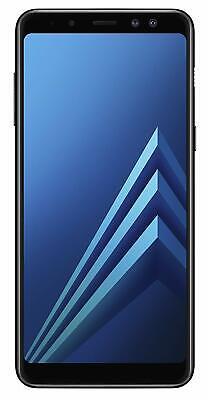 Samsung Galaxy A8 (2018) Duos 32GB Black - GRADE A - Unlocked Smartphone