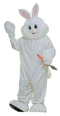 Plush Bunny Adult Costume - Easter - Easter Bunny Adult Costume