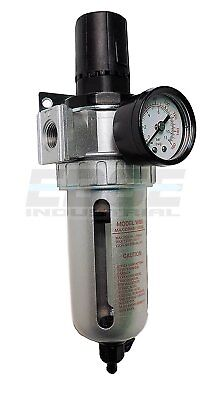 12 Combo Air Pressure Regulator Water Trap Particulate Filter For Compressor