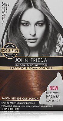 John Frieda - Precision Foam Colour - Light Amber Brown 6NBG