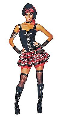 American Punk Girl Halloween Costume - Adult Extra Small Size 0-2