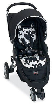 Britax B-Agile Stroller Fashion Kit Seat Cover In Cowmooflage Brand New!!