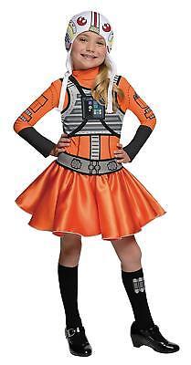 STAR WARS X-WING FIGHTER PILOT TWEEN GIRL HALLOWEEN COSTUME Large Size 12/14 NEW (Girl Pilot Halloween Costume)