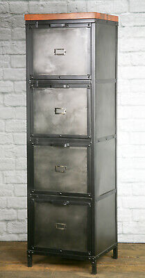 Industrial Filing Cabinet Modern Industrial File Drawer Vintage Industrial Off