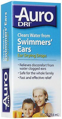Clear Ear Drying Aid (Auro Water Drying Aid-1 oz clears water from swimmers)