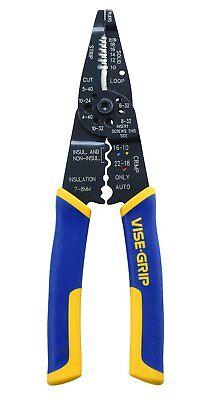 Irwin 2078309 Multi Tool Strippercuttercrimper - 8 Inch