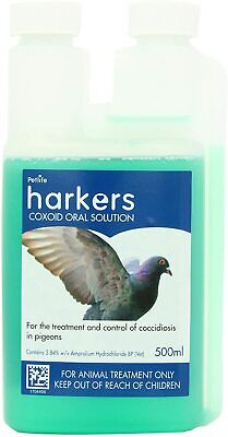 Harkers Coxoid Coccidiosis Treatment for Pigeon 500ml Bottle