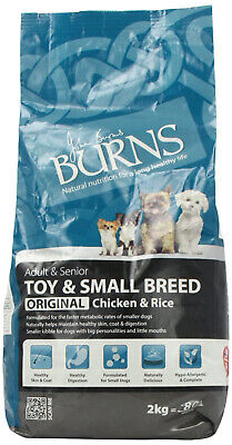 Burns Pet Nutrition Original Complete Dry Adult Toy and Small Breed Dog Food