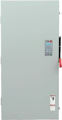 Siemens Gf225nra General Duty Safety Switch Fusible 2 Pole 240 Volt 400 Amp