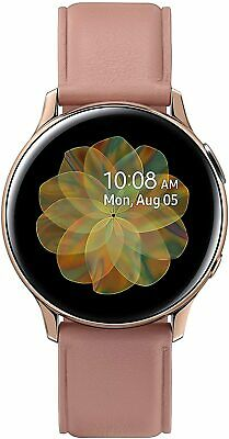 Samsung Galaxy Watch Active 2 SM-R835 40mm Stainless Steel Rose Gold Leather LTE