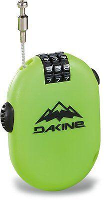 2018 DAKINE SNOWBOARD SKI BICYCLE 3 DIGIT COMBINATION MICRO LOCK  GREEN 10001563
