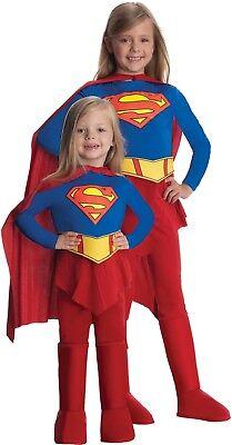 Mädchen Deluxe Supergirl Hero Welttag des Buches Woche - Deluxe Supergirl Kostüme
