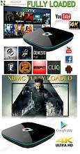 KODI TV BOX Quad Core 16G DVD 2.0 Android WIFI TELEVISION MOVIES Wetherill Park Fairfield Area Preview