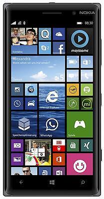 nokia Lumia 830 Schwarz, Windows Phone, TOP Gebraucht na sprzedaż  Wysyłka do Poland