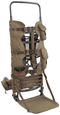Large Hunting Backpack Frame Freight Best Hiking Gear Pack Game Meat