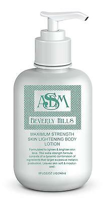 8 oz ASDM Beverly Hills Maximum Strength Skin Lightening Lotion Skin-whitening