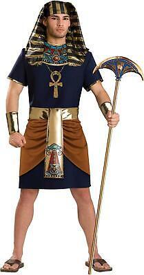 InCharacter Adult Mens Pharaoh Egyptian Costume, Multicolored, Size Medium XyTO