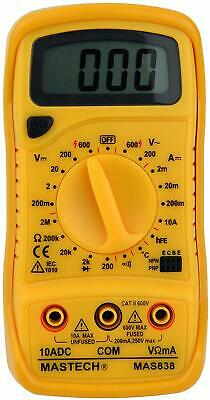 Tekpower Mas838 19-range Digital Multimeter With Temperature Measurement