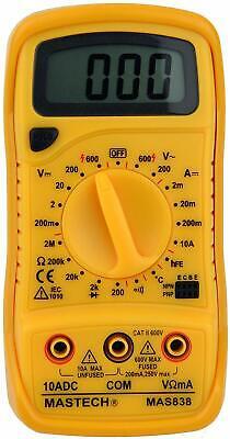 Tekpower Mas838 19-range Digital Multimeter With Temperature Measurement