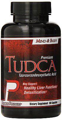 Premium TUDCA. Tauroursodeoxycholic Acid, 60 caps. BEST On Cycle Liver -