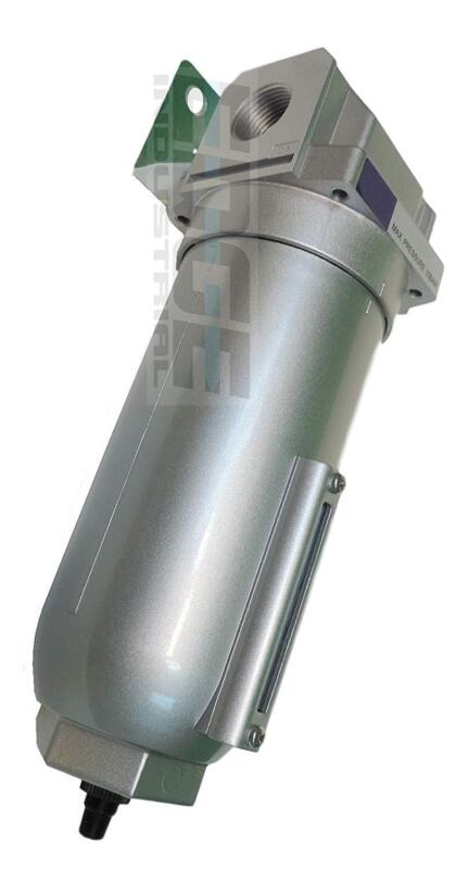 "1"" HEAVY DUTY IN LINE COMPRESSED AIR MOISTURE TRAP WATER FILTER, AUTO DRAIN"