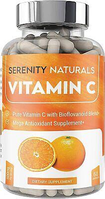 Vitamin C for Immune Support with Organic Orange Peel, Rose Hips, and More  Organic Vitamin C