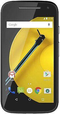 "Motorola Moto E 2nd Gen 8GB BLACK TESCO/UNLOCKED 4.5"" inch 2390mAh Smartphone"