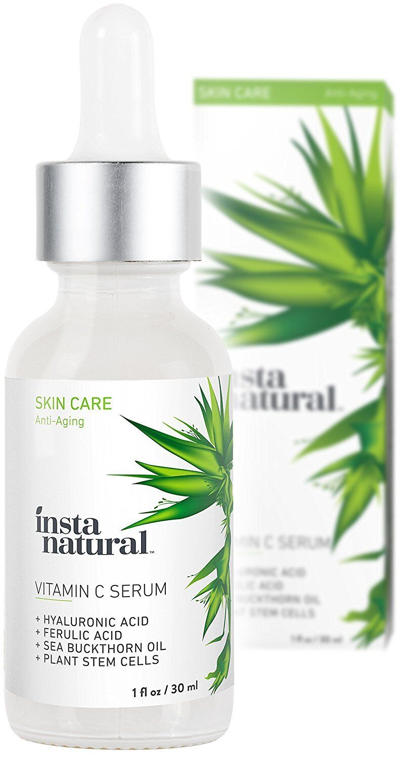 InstaNatural Vitamin C Serum with Hyaluronic Acid & Vit E -