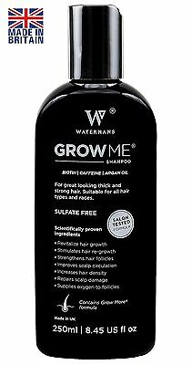 Best Hair Growth Shampoo Sulfate Free, Caffeine, Biotin, Argan