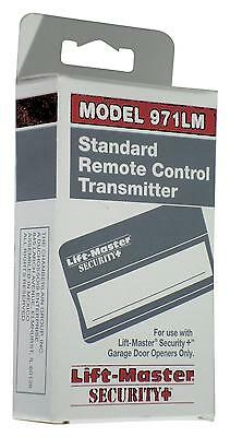 971LM Liftmaster SEARS Craftsman One Button Security + Remote 390mhz transmitter