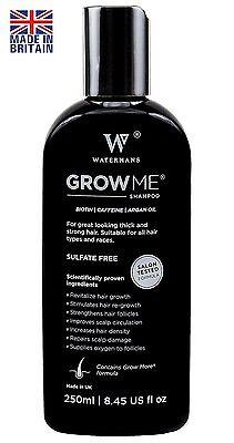 A Best Hair Growth Shampoo Sulfate Free, Caffeine, Biotin, Argan