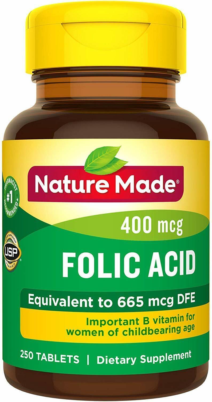 #1 Pastillas Naturales De Acido Folico Para La Anemia El Cansancio Embarazadas