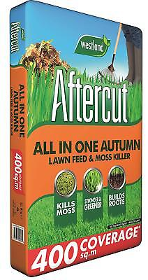 400sqm Westland Aftercut all in one AUTUMN Lawn Feed, Weed and Moss killer grass