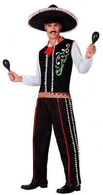 Herren Mexikanisch aus Aller Welt Karneval Herrenabend Kostüm Kleid Outfit M-XL (Kostüme Aus Aller Welt)