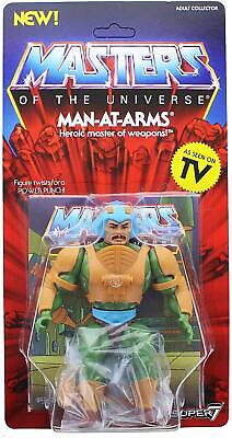 Masters of the Universe Vintage Man-At-Arms 5 1/2-Inch He-Man Action (Mens Of Name)