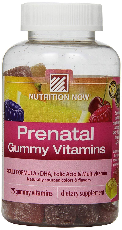 prenatal gummy vitamins 75 gummies