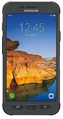 """""""New"""" Samsung Galaxy S7 Active SM-G891A Unlocked GSM Phone  Grey LCD Ghost"""