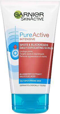 Garnier Pure Active Intensive Exfoliating Face Scrub, 150ml* FREE DELIVERY
