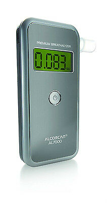 NEWEST MODEL AlCOMATE PREMIUM (AL-7000) BREATHALYZER-NO CALIBRATION-FREE SHIP!